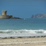 La Rocco Tower on St. Ouens beach