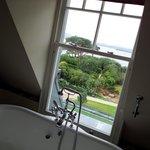 View when taking a bath, top floor, room 315