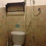 toilette douche