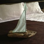 Hotel Room Bed @ Doolan Shore Club