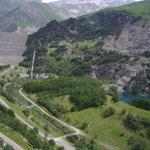 Dam at Lac de Grand Maison