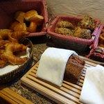 Das Frühstücksbuffet