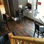 downstairs in Jamie's
