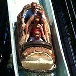 Log ride at Fair Park