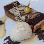 Hazelnut and Chocolate dessert