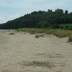 Beach looking towards Castle