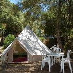 tente logde camping eslanade