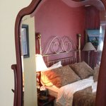 Mirror with Bed