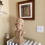 Bust and Photo