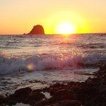 Sunset from Pollonia(Pelekouda)