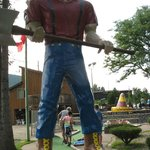 Paul Bunyan at Around the World Golf