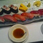 Sushi & Sashimi, Asahizushi Sohonten, Tokyo