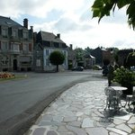 Main street and hotel
