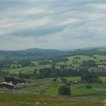 Overlooking Grassington village