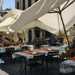 I tavolini all'aperto (piazza delle Erbe)