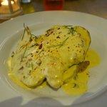 Poulet, pommes de terre grillées et sauce à la moutard MIAM