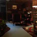 The cozy parlor