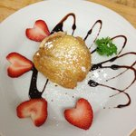Fried ice-cream