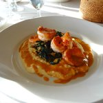Shrimp and Polenta