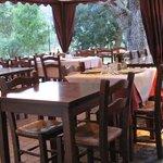 Zona ristorante all'aperto