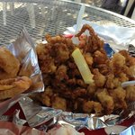 A pint of fried clams - yes!