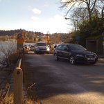 Cars Coming off the Bowness / Sawrey ferry