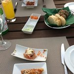 amazing appetisers and bread