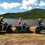 ATV tour at Outback Kayak