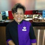Jo Chan  - best waitress