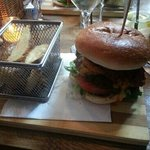 Tex Mex Burger from Minibar new menu