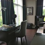 Duke of York Suite with Writing Desk by 3 Large Floor to Ceiling Windows