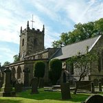 eyam church and graveyards