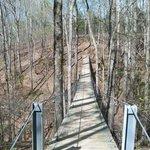 Cool suspension bridge