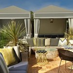 Retreat poolside in our Cabanas!