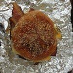 Breakfast sandwich with regular bacon