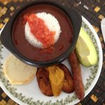 traditional colombian lunch