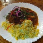 Amazing lamb shank madras curry....a must have!