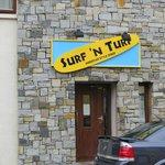 Surf 'N Turf Entrance