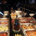 delicious multi cuisine dish at Alisan .