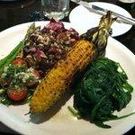 Vegetable platter- appetizer or meal, incredible!