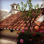 Antigua rooftop