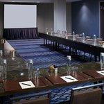 Polished meeting spaces with executive-level amenities and services.