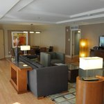 Suite Living Room and Dining Room