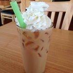 Thai Iced tea with whipped cream