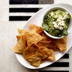 Guacamole + Chips at Longitude Bar + Restaurant