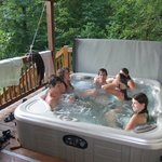 Six person 'fun' tub.