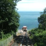 Railway from Beach