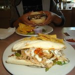 Chicken Cheesesteak Sandwich