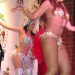 Close upshot of one dancer