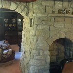 Other side of the keeping room fireplace.